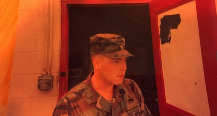 Jamie Shupe as a soldier at Fort Hood. (Photo: Jamie Shupe)