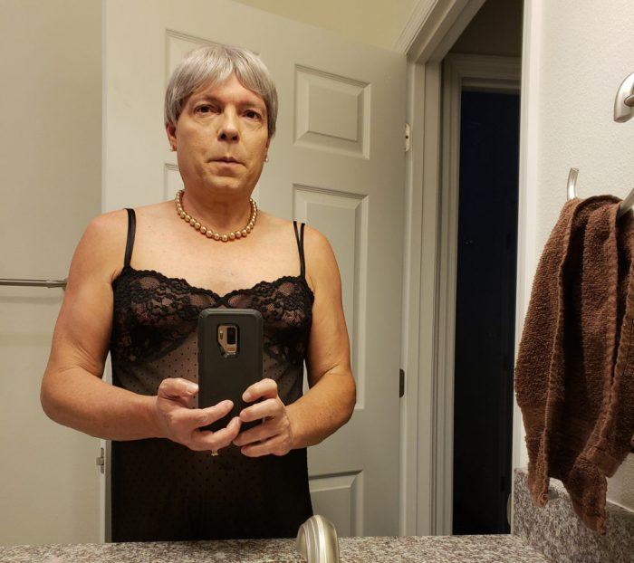 Jamie Shupe identifying as nonbinary in October 2018. (Photo: Jamie Shupe)