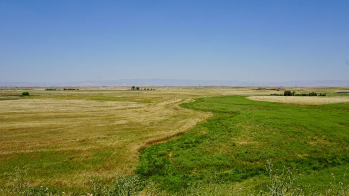 The Gaugamela battlefield in Iraqi Kurdistan, where Alexander the Great's army defeated the Persian army of Darius III in 331 B.C.