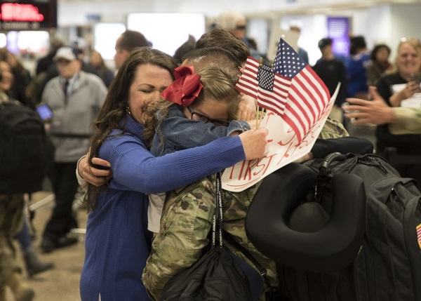 Airmen Return from War