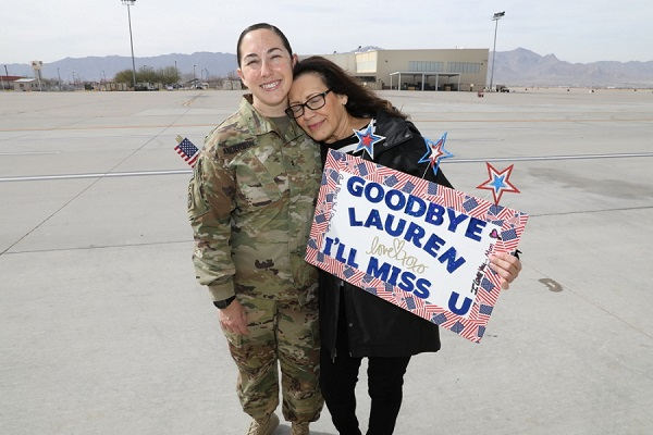 Soldier Deploys to Afghanistan
