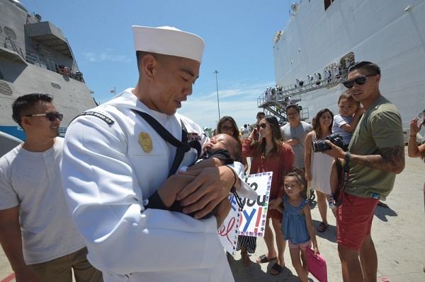 Sailor Meets Newborn