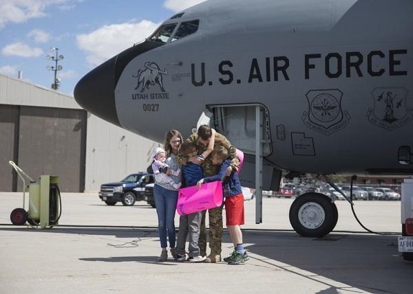 Airman Returns Home