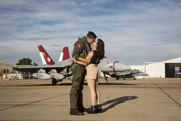 Marine Pilot Homecoming