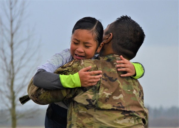 Airman Surprises Daughter
