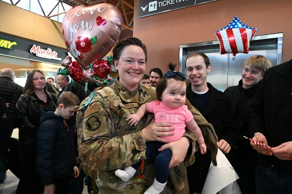Airman Returns from Afghanistan