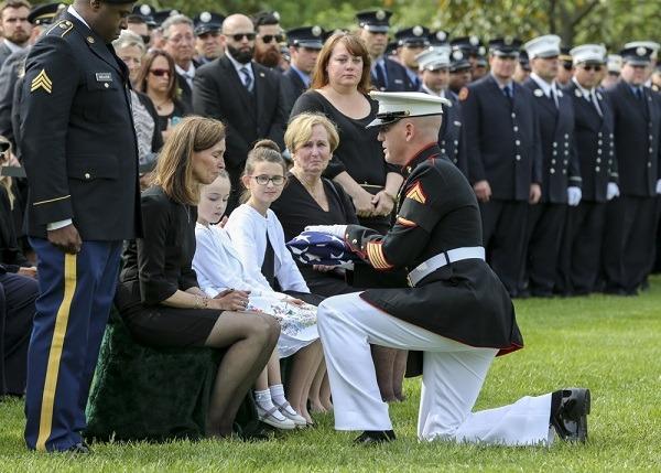 Marine's Funeral