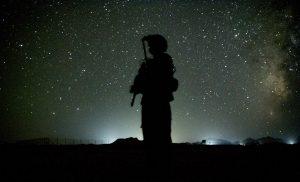 Airman in Afghanistan