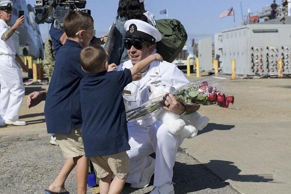 USS McFaul Homecoming