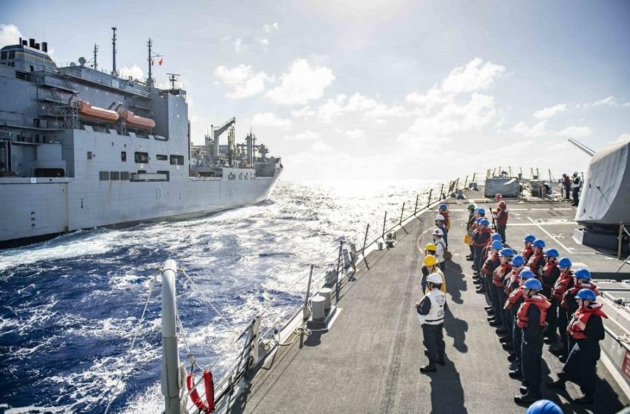 Military Photo of the Day: Replenishment-at-Sea | The Stream