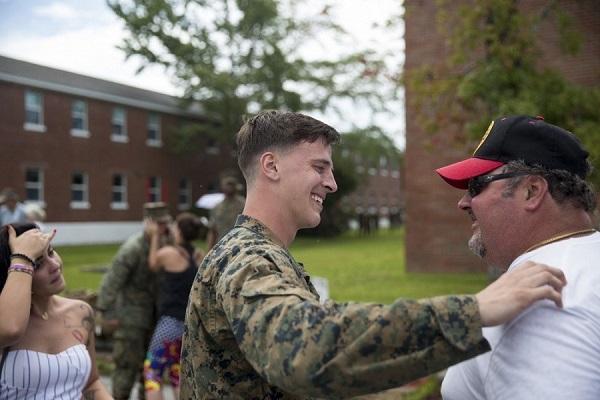 Marine Comes Home