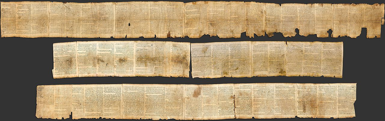 The Isaiah Scroll, designated 1Qlsaa and also known as the Great Isaiah Scroll, is one of the seven Dead Sea Scrolls that were first recovered by Bedouin shepherds in 1947 from Qumran Cave. Pieces of the scroll have dated using both radiocarbon dating and palaeographic/scribal dating giving calibrated date ranges between 356-103 B.C. and 150-100 B.C. respectively.