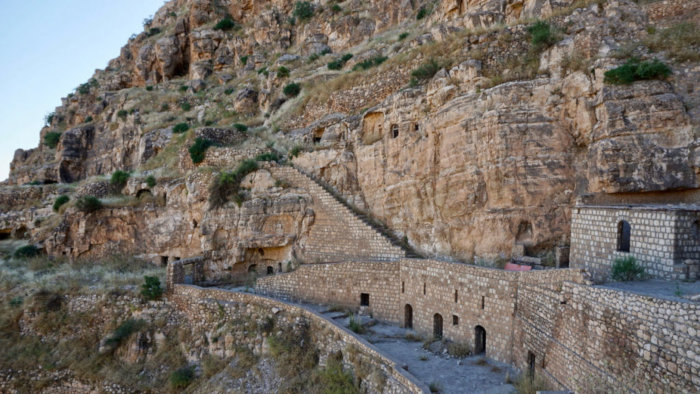 Founded in 640, the Rabban Hormizd Monastery of the Chaldean Catholic Church has been abandoned and rebuilt multiple times.