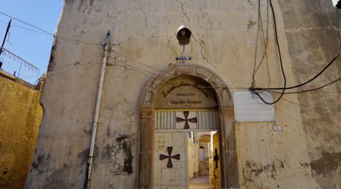 Within Alqosh, there's plenty of evidence of the town's Christian heritage.