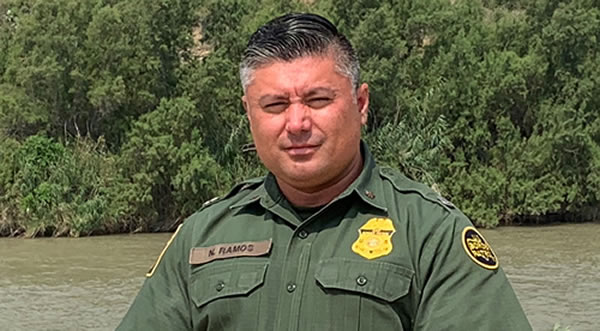 """""""Just about every agent has been involved in a humanitarian aspect,"""" Border Patrol Agent Narcizo Ramos says."""