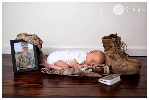Landon Carpenter, son of fallen U.S. Marine Lance Cpl. Andrew Carpenter, in 2011.