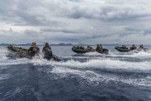 Marines on Small Boats