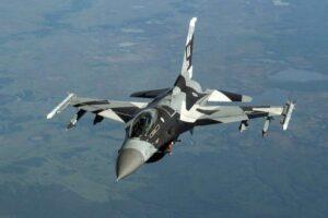 F-16 Over Alaska