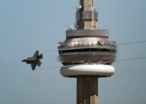 F-35A in Toronto