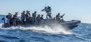 Marines on Boat