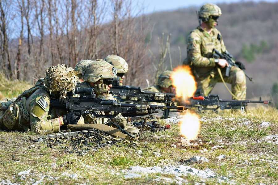 Military Photo of the Day: Flashes of Fire in Slovenia | The Stream