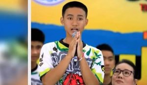 Joy Break: Thai Soccer Player Rescued From Cave Says 'God Answered Me'