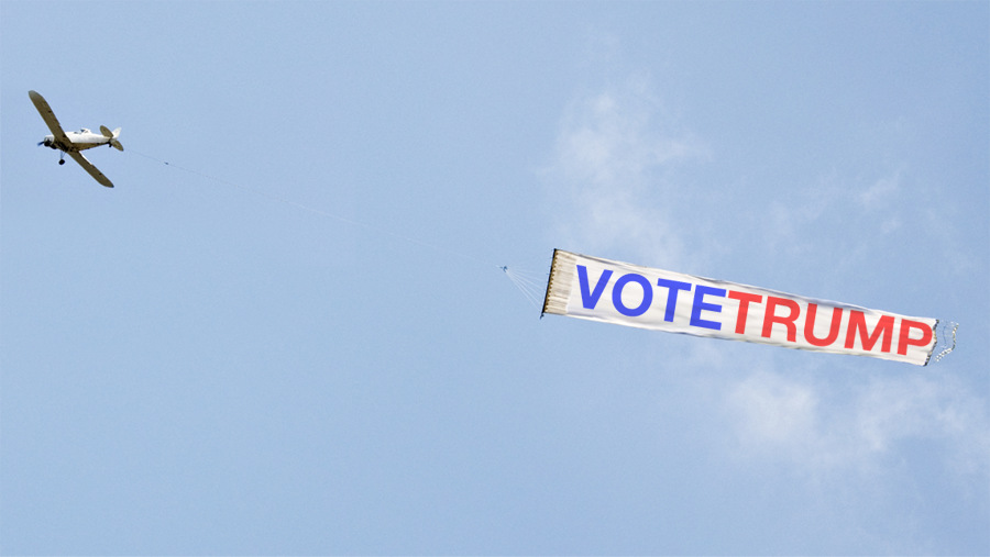 Ocean City Airplane Banners