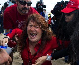 Anti-Trump violence - 90000