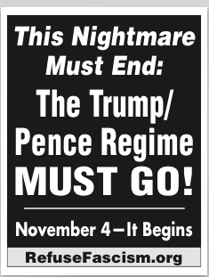 Antifa flyer