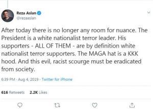 Aslan tweet - 550