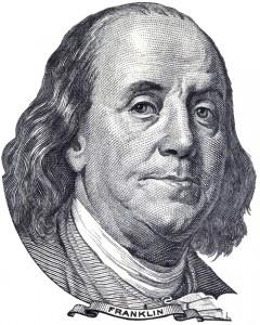 Benjamin Franklin - 500