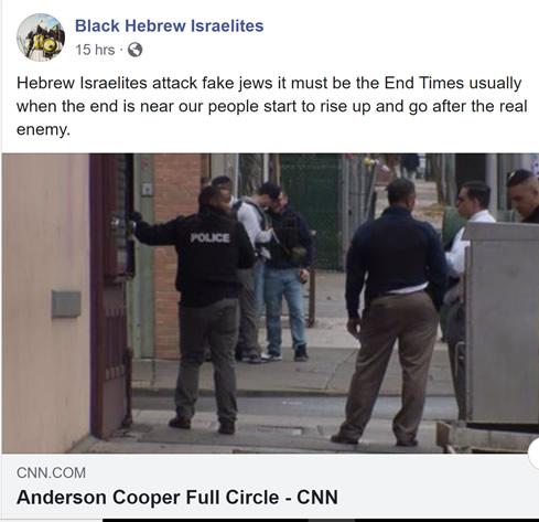 Black Hebrew Israelites FB Post