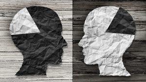 Black vs White Thinking Racism People - 900