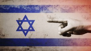 Blaming Jewish People Israel Anti-semitism Flag - 900