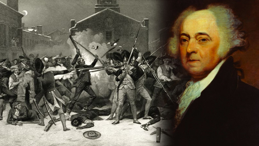 a discussion on the role of john adams in the boston massacre An anonymous narrative of the horrid massacre in boston circulated in the city, along with paul revere's dramatic, if inaccurate, engraving of british redcoats firing at point blank range on unarmed and peaceable colonists.