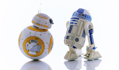 C3PO and BB8 - 400