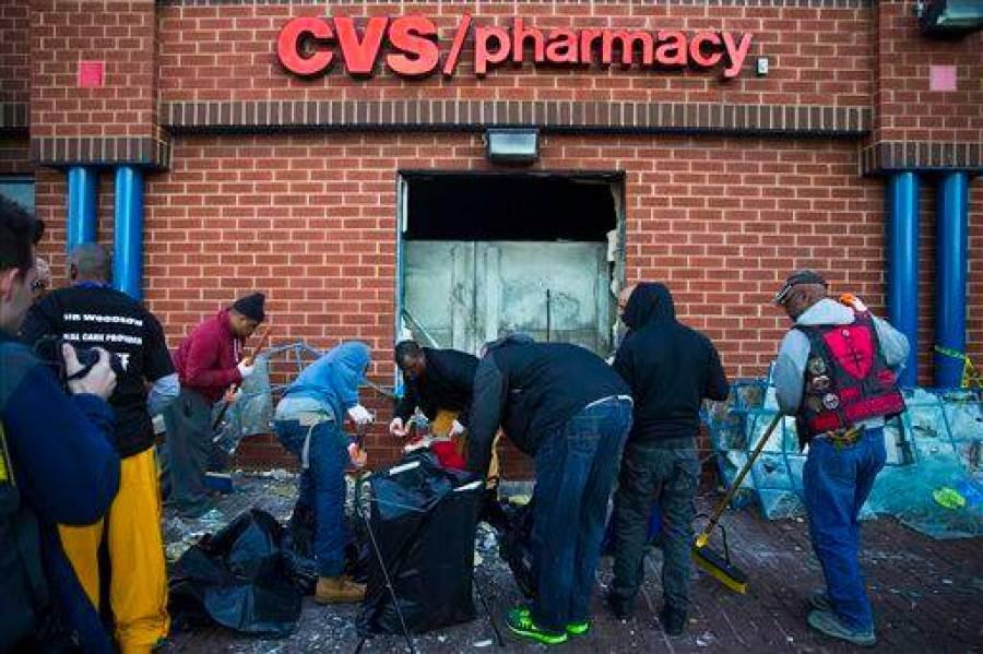 CVS Cleanup Baltimore