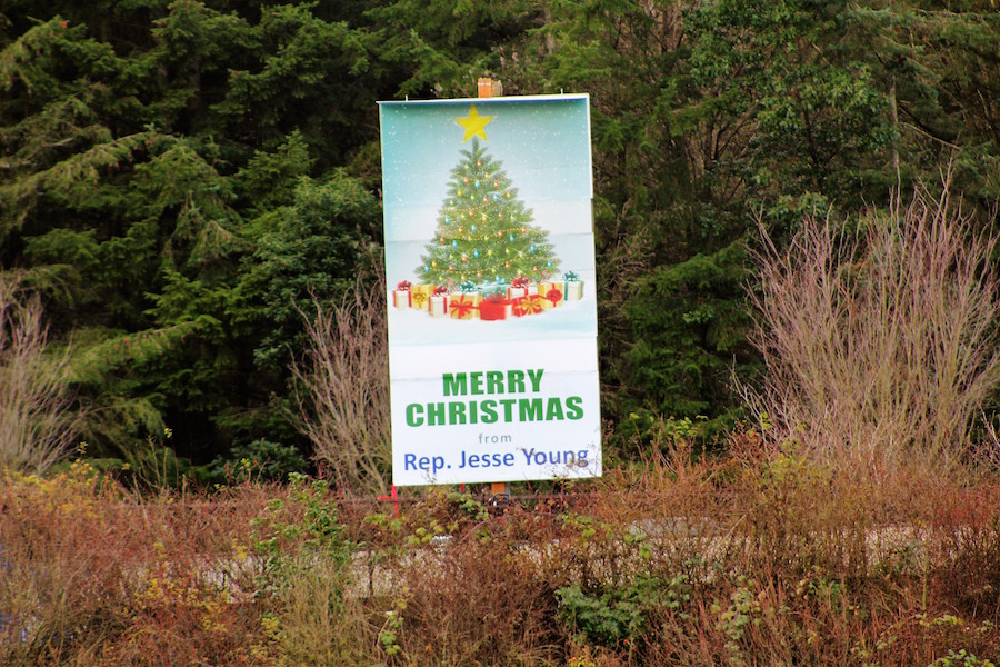 Christmas Tree billboard