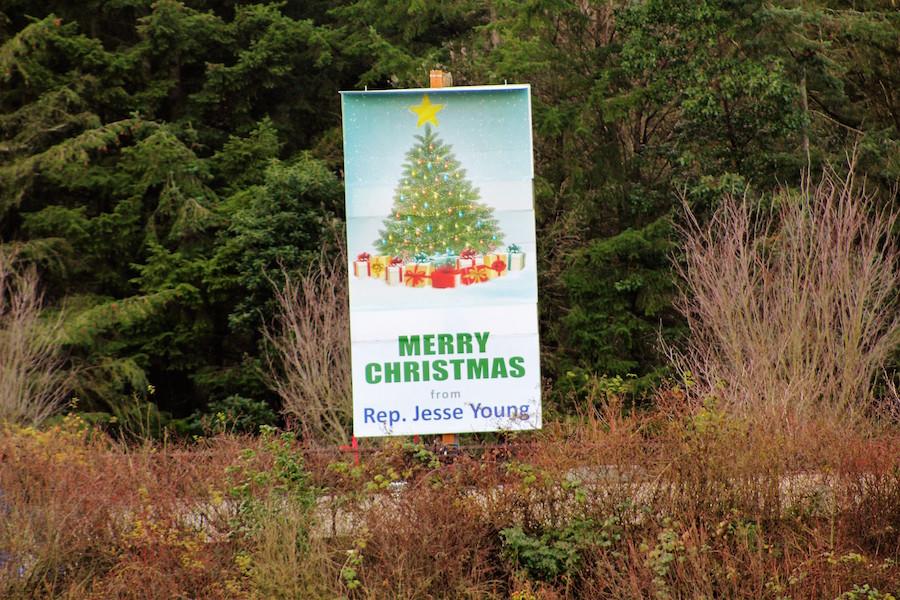Christmas Tree billboard