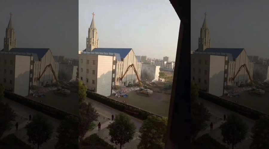 Chinese Megachurch Torn Down During Worship Service | The Stream