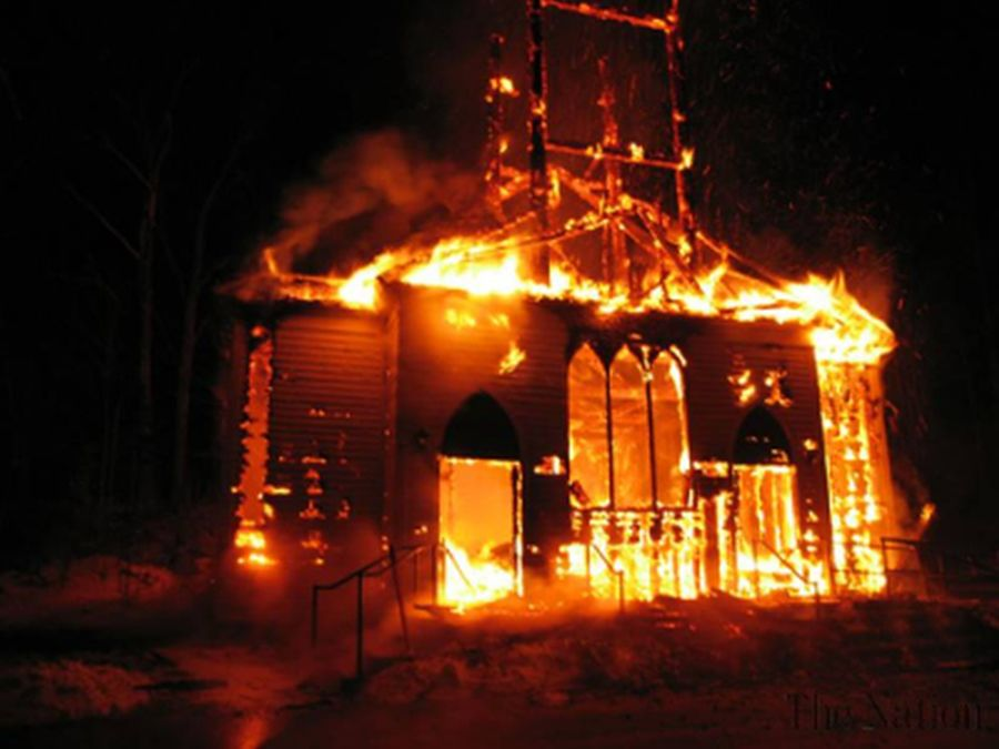When the World is on Fire, Christians Cant Just Tend Our