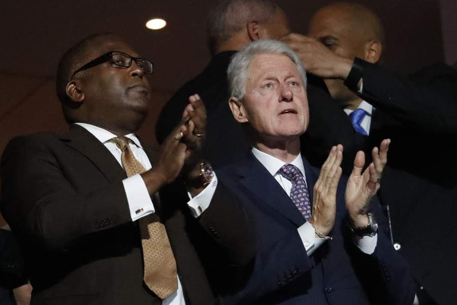 """comments on bill clintons speech at democratic national convention essay Bill clinton gave quite the speech at this year's democratic national convention in fact, to say """"quite the speech"""" is underselling it he gave an."""