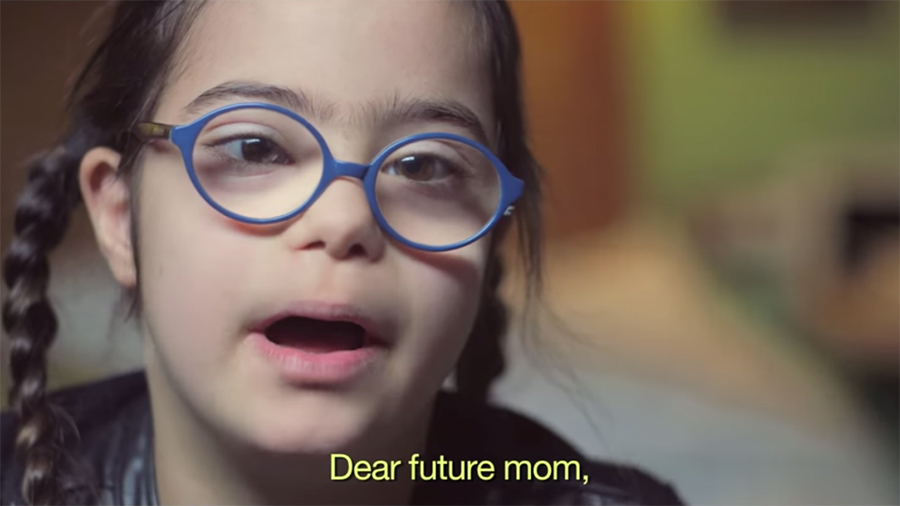 Dear Future Mom Down Syndrome Girl 1 Intro - 900