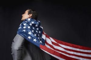 American Flag Cape