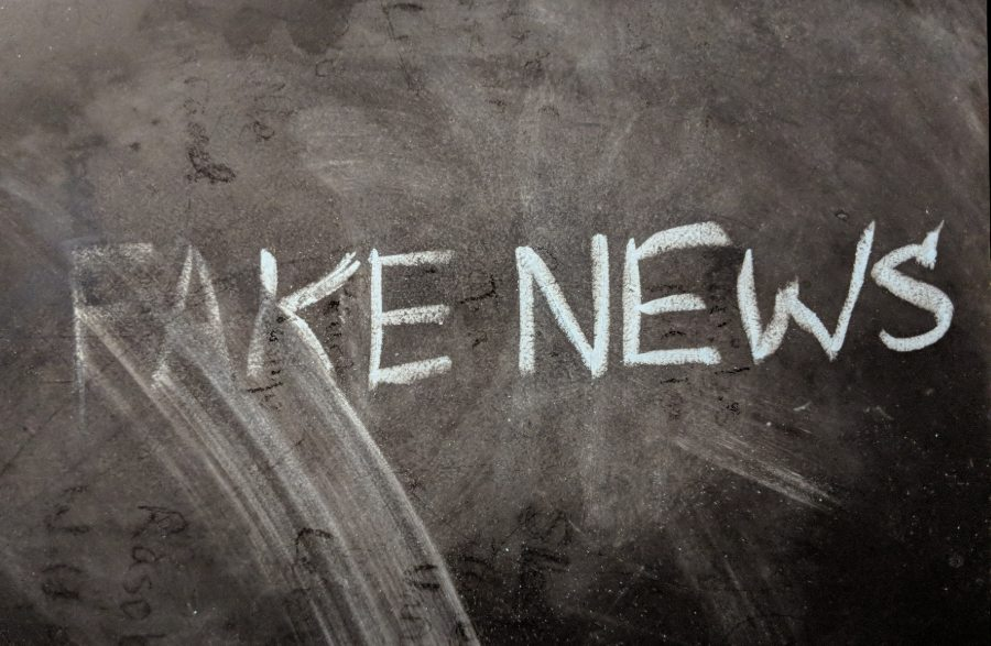 The Left is Trying to Eliminate the Phrase 'Fake News' Fake-News-Chalkboard
