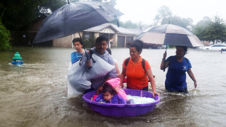 The Impact of Hurricane Harvey in Pictures | The Stream