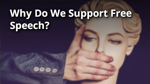 Why Should Christians Support Free Speech?