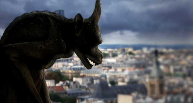Gargoyle Evil Demon City Silhouette - 900