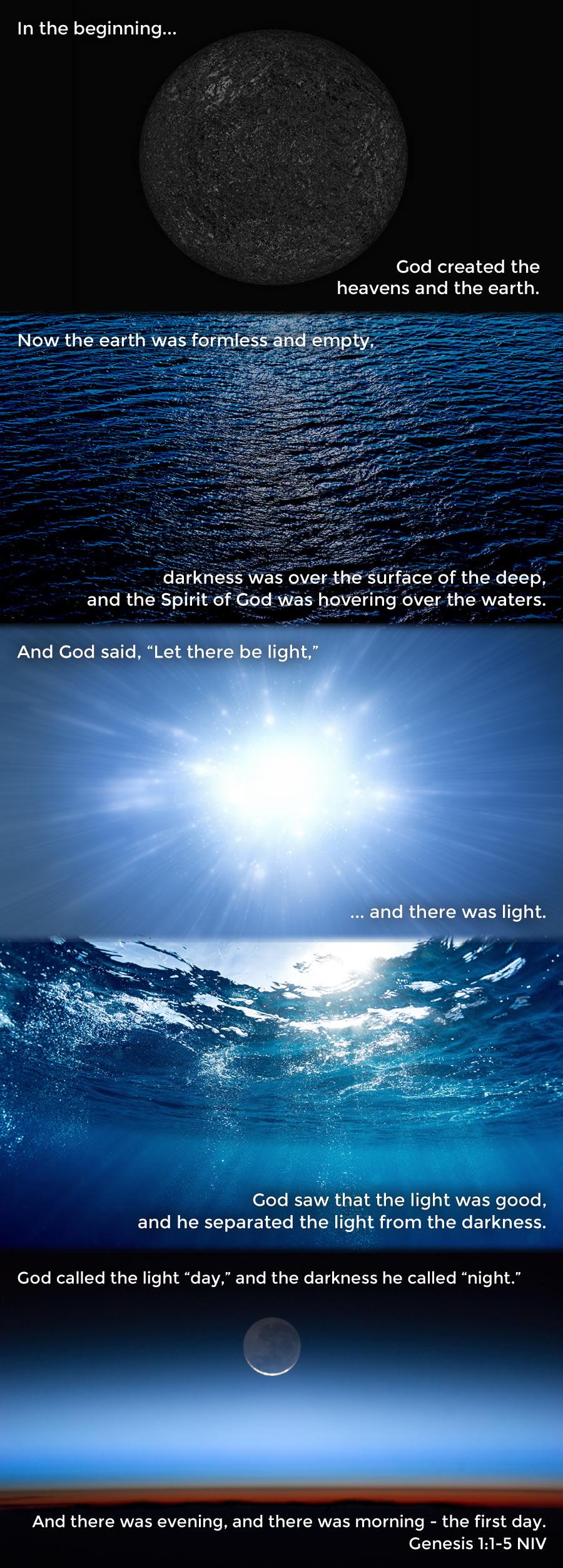 Genesis 1.1-5