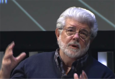 George Lucas on Religion and Star Wars - 400
